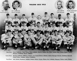 1953 AAA Baseball Toledo Sox  / Mud Hens Team Picture 8 X 10 Photo Picture