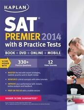 Kaplan SAT Premier 2014 with 8 Practice Tests: book + online + DVD + mobile, Kap