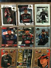 LOT OF 9 DIFFERENT YEARS & BRANDS KURT BUSCH SOME ARE PARALLEL CARDS # 40