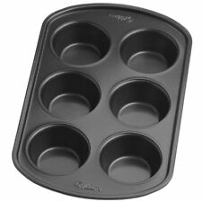 Wilton 6 Cups Perfect Results Nonstick Bakeware Muffin Cup Cakes Baking Pan Tin