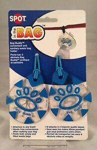 Spot Bag Buddy Hands Free Waste Bag Holder in Blue