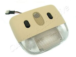99-04 SAAB 9-3 9-5 INTERIOR LIGHT w/out SENSOR 12795569 BEIGE roof dome map lamp