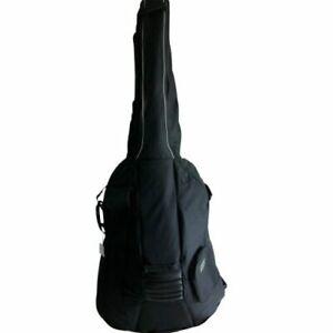 Luxus Kontrabasstasche Basssack, stark gepolstert, schwarz für 4/4 Größe neu