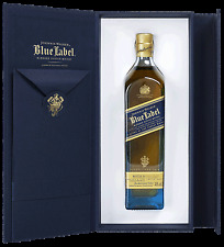 Johnnie Walker Etiqueta Azul regalo envase, blended Scotch Whisky, 0,2 L.