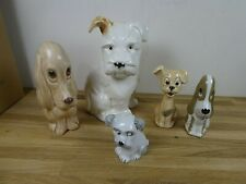 More details for job lot vintage ceramic collectable dogs-beswick / sylvac / szeiler