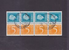 NETHERLANDS-1970's-QUEEN JULIANA BOOKLET STAMPS x 8-F/U-$4.50-freepost