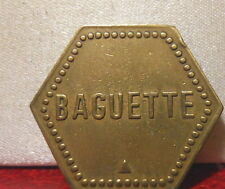 JETON NECESSITE PAIN BOULANGERIE BAKERY BAGUETTE COOPERATIVE SAULNES Lorraine