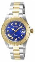 Invicta 14363 Womens Angel Dark Blue Dial Two Tone Bracelet Watch