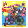 3 Watercolour Paint Wheels Set With Brush Children's Art & Crafts Painting set