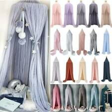 Kids Princess Bed Canopy Bedcover Mosquito Net Curtains Bedding Dome Tent Decor