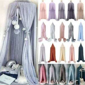 Princess Bed Canopy Bedcover Mosquito Net Curtain Bedding Dome Tent