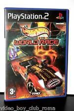 HOT WHEELS WORLD RACE GIOCO USATO OTTIMO PS2 ED ITALIANA GIOCO INGLESE 32005