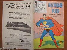 Superman Nembo Kid Albi del falco n 315 duello all'ultimo sangue 29-4-1962 vendo