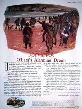 1955 GUINNESS Beer Advert (GE2442B) - 'O'Lara's Alarming Dream' Cartoon Print AD