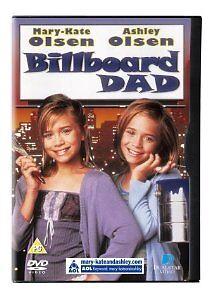 Billboard Dad DVD MARY KATE ASHLEY OLSEN TWINS Movie - AUST REGION 4