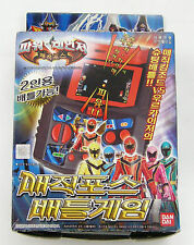 BANDAI Power Rangers Mystic Force  : COLOR GAME KIDS Electronic New (Korea Ver.)