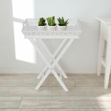 Pine Folding Rectangle Side & End Tables