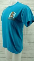 Freaky Tiki Bar Clothing T Shirt Panama City Florida Blue Size Medium