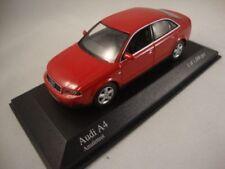 Coches, camiones y furgonetas de automodelismo y aeromodelismo A4, Audi, escala 1:43