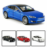 1/32 Tesla Model S 100D Model Car Alloy Diecast Toy Vehicle Collection Kids Gift