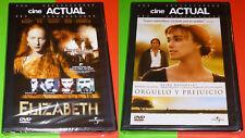 ELIZABETH + ORGULLO Y PREJUICIO Pride and Prejudice - English Español DVD R2 Pre