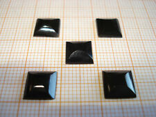 Ringstone - Onyx - square - ca. 8x8mm - high polished - 1 Piece - (Paypal)