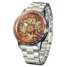 IK Colouring Gents Automatic Skeleton Watch  98226S-6