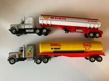 Modellautos Set Shell Tankwagen u.a. SZE Toy Trailer Truck