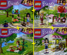 LEGO Friends - Lot / Pack 4 Sets Collector - RARE - Edition Limitée - 100% NEW