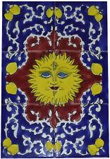 Fliesenbild Keramikfliesen Orient Handbemalt Wandfliesen Mediterran Mosaik 06 34