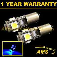 2X BA9s T4W 233 CANBUS ERROR FREE BLUE 5 LED SIDELIGHT SIDE LIGHT BULBS SL101402