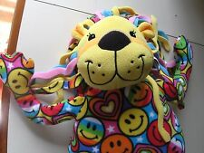 "24"" plush Bee Posh Lion doll, made by Melissa & Doug, good condition"