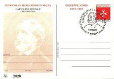 SMOM - Cart. Post. - 2001 - GIUSEPPE VERDI