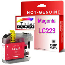 Cartucho de Tinta Rosa Non Oem BROTHER LC223 LC-223 XL DCP-J562DW DCPJ562DW