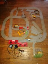 TYCO US1 ELECTRIC TRUCKING  DOUBLE TRACK 4 TRUCK SET!!!