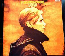 "Rare David Bowie Low RCA '77 Green Label INTS5065 12"" 33RPM Ex Uk Ed"