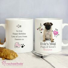 PERSONALISED PUG GIFT MUG Pug Dog Lovers Gift Idea Christmas Birthday Present