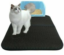 Cat Litter Mat Double-Layer  Waterproof Cat Catcher  Blanket Trapper Pad