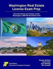 Brand new Washington Real Estate License Exam Prep Book: ISBN 978-0915777457