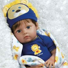"""Paradise Galleries Reborn Baby Doll Boy """"Lions & Tigers & Bears, Oh My!"""""""