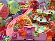 Littlest Pet Shop LOT 3 RANDOM Teeniest Playsets + 7 Tiniest Figures SURPRISE!