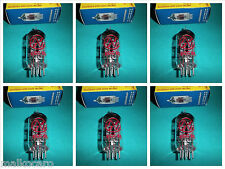 6x ECC81 JJ-ELECTRONIC 12AT7 SESTETTO SEXTET tubes tube valvole NUOVE MATCHED