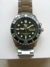 "Mens Seiko ""Sea Urchin"" Submariner Automatic Divers 23 Jewels 100m SNZF17K1"
