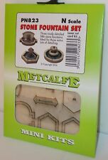 Metcalfe PN823 Mini Kit - Stone Fountain Set, Laser Cut Card Kit (N Gauge)  New