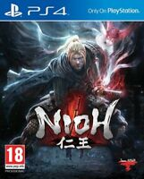 Nioh PS4 * NEW SEALED PAL *