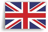 United Kingdom Flag Wall Sticker, Union Jack vinyl decal sticker UK 3 sizes