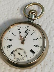 alte Taschenuhr EXTRA Funktion Uhrwerk gut