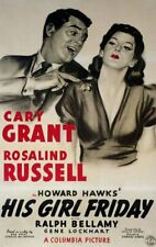 RARE 16mm Feature: HIS GIRL FRIDAY (CARY GRANT / ROSALIND RUSSELL) HOWARD HAWKS