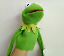 Rare The Muppet Show Hand Puppet Eden Full Body Kermit the Frog Plush Play Dolls