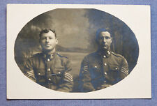 Wwi Rppc of Two New Zealand Sergeants